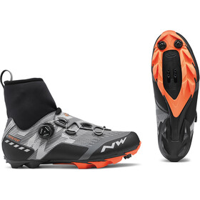 Northwave Raptor GTX Shoes Herren reflective/orange lobster